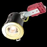 Knightsbridge VFRDGICB Fixed GU10 230V 50W IC Fire-Rated Downlight