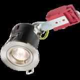 Knightsbridge VFRDGICCBR Fixed GU10 Fire-Rated Downlight B/Chrome