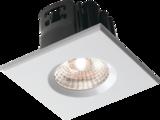 Knightsbridge VFRSBEZW Square White Bezel For VFRCOB Downlights