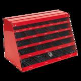 Sealey DBRFSET Drill Bit Counter Top Dispenser 250pc HSS Roll Forged