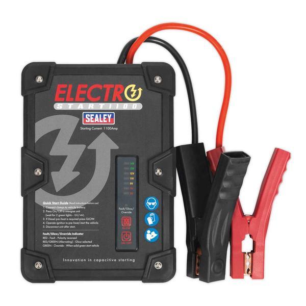 Sealey E/START1100 ElectroStart Batteryless Power Start 1100A 12V Thumbnail 2