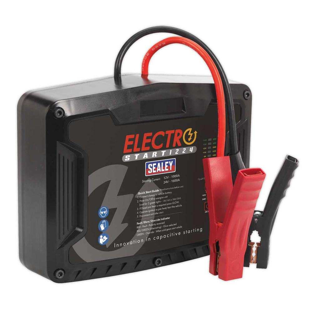 Sealey E/START1224 ElectroStart Batteryless Power Start 1000/1600A 12/24V