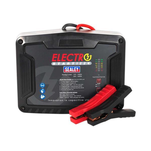 Sealey E/START1224 ElectroStart Batteryless Power Start 1000/1600A 12/24V Thumbnail 2