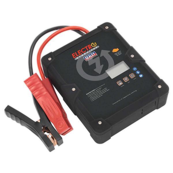Sealey E/START1600 ElectroStart Batteryless Power Start 1600A 12V Thumbnail 3