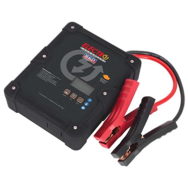 Sealey E/START1600 ElectroStart Batteryless Power Start 1600A 12V Thumbnail 1