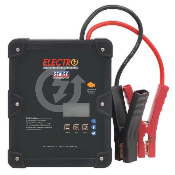 Sealey E/START1600 ElectroStart Batteryless Power Start 1600A 12V Thumbnail 2