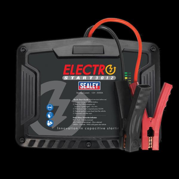 Sealey E/START3012 ElectroStart® Batteryless Power Start 3000A 12V Thumbnail 2
