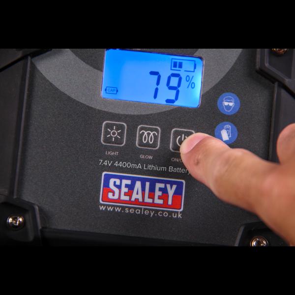 Sealey E/START800HY ElectroStart® Hybrid Power Start 800A 12V Thumbnail 7