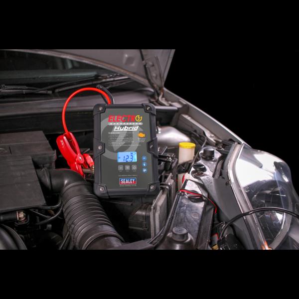Sealey E/START800HY ElectroStart® Hybrid Power Start 800A 12V Thumbnail 4