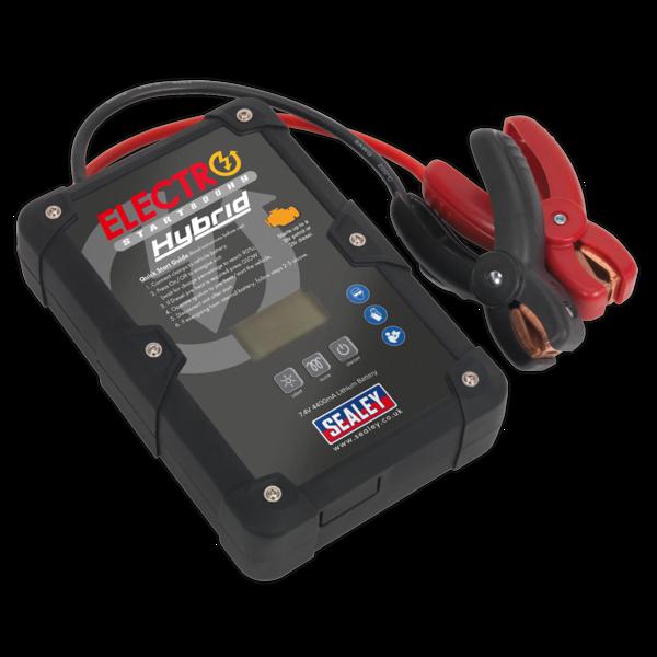 Sealey E/START800HY ElectroStart® Hybrid Power Start 800A 12V Thumbnail 1