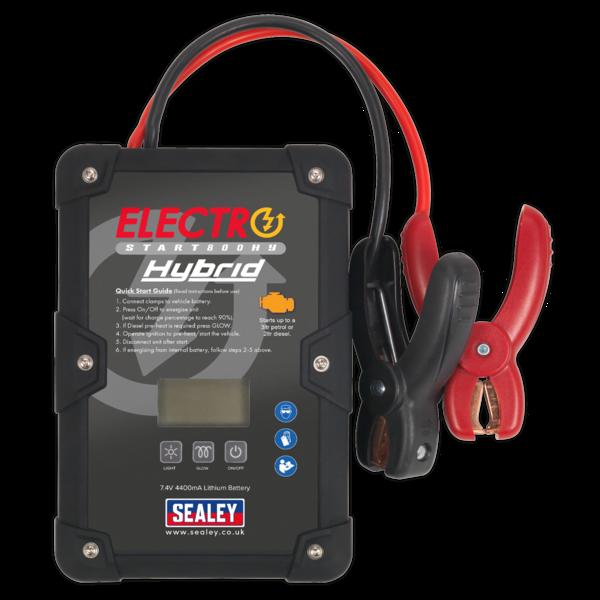 Sealey E/START800HY ElectroStart® Hybrid Power Start 800A 12V Thumbnail 2