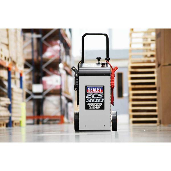 Sealey ECS300 Electronic Charger Starter 45/300A 12/24V Thumbnail 4
