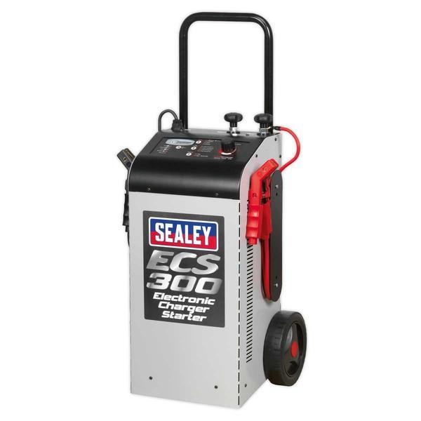 Sealey ECS300 Electronic Charger Starter 45/300A 12/24V Thumbnail 5