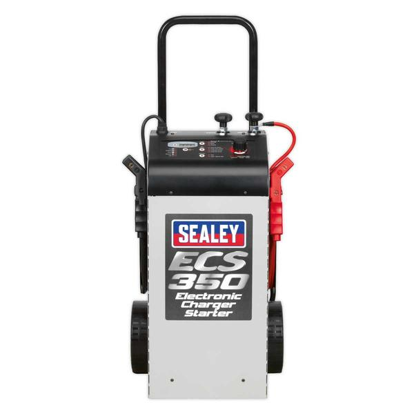 Sealey ECS350 Electronic Charger Starter 60/350A 12/24V Thumbnail 2