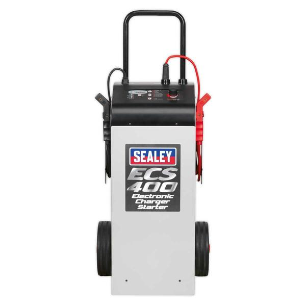 Sealey ECS400 Electronic Charger Starter 75/400A 12/24V Thumbnail 3