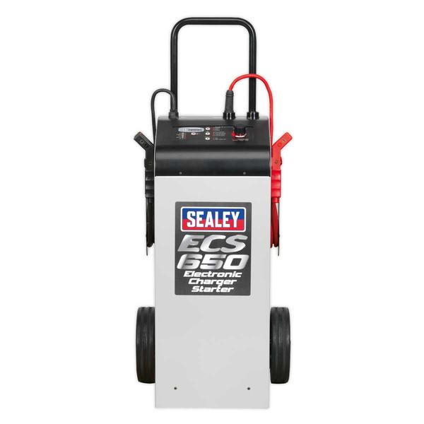 Sealey ECS650 Electronic Charger Starter 100/650A 12/24V Thumbnail 3