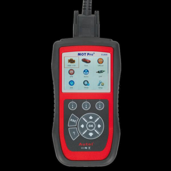 Sealey EU908 Autel MOT Pro® - Multi-Manufacturer Diagnostic Tool Thumbnail 3