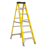 Sealey FSL7 Fibreglass Step Ladder 6-Tread EN 131