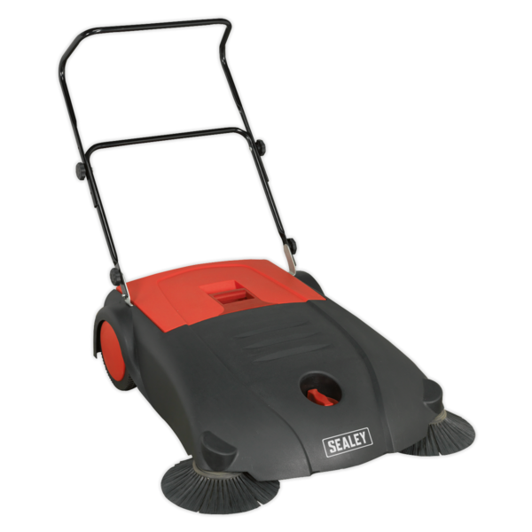 Sealey FSW80 Floor Sweeper 800mm 40 Litre Capacity Thumbnail 1