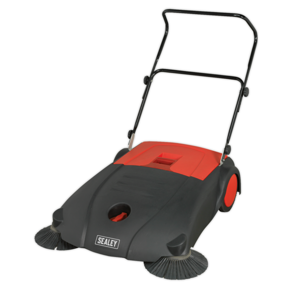 Sealey FSW80 Floor Sweeper 800mm 40 Litre Capacity Thumbnail 3