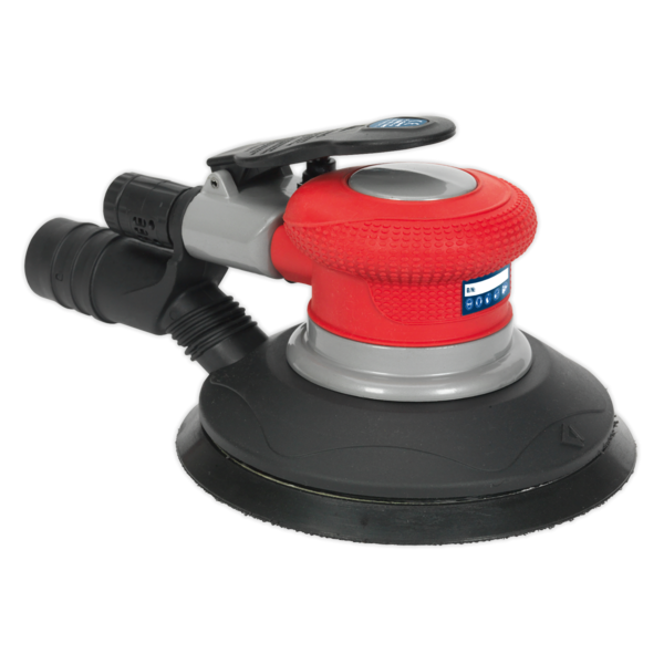 Sealey GSA05 Air Palm Random Orbital Sander Ø150mm Dust-Free Thumbnail 2