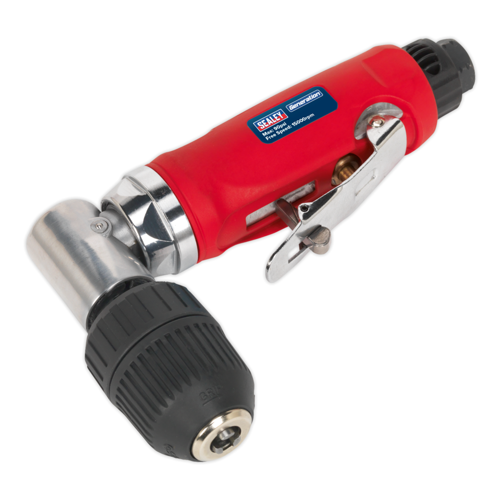 Sealey GSA231 Air Angle Drill with Ø10mm Keyless Chuck