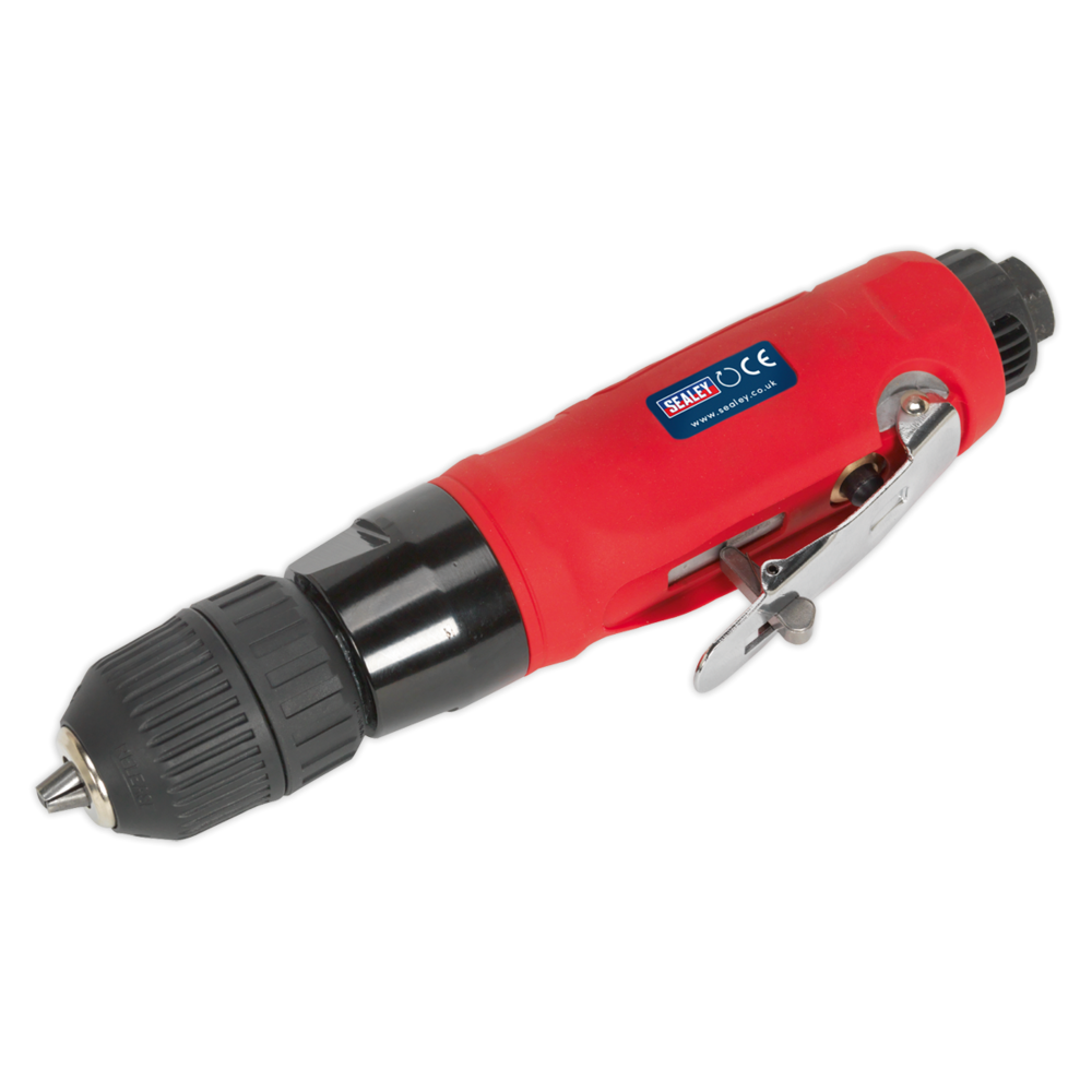 Sealey GSA232 Air Drill Straight with Ø10mm Keyless Chuck