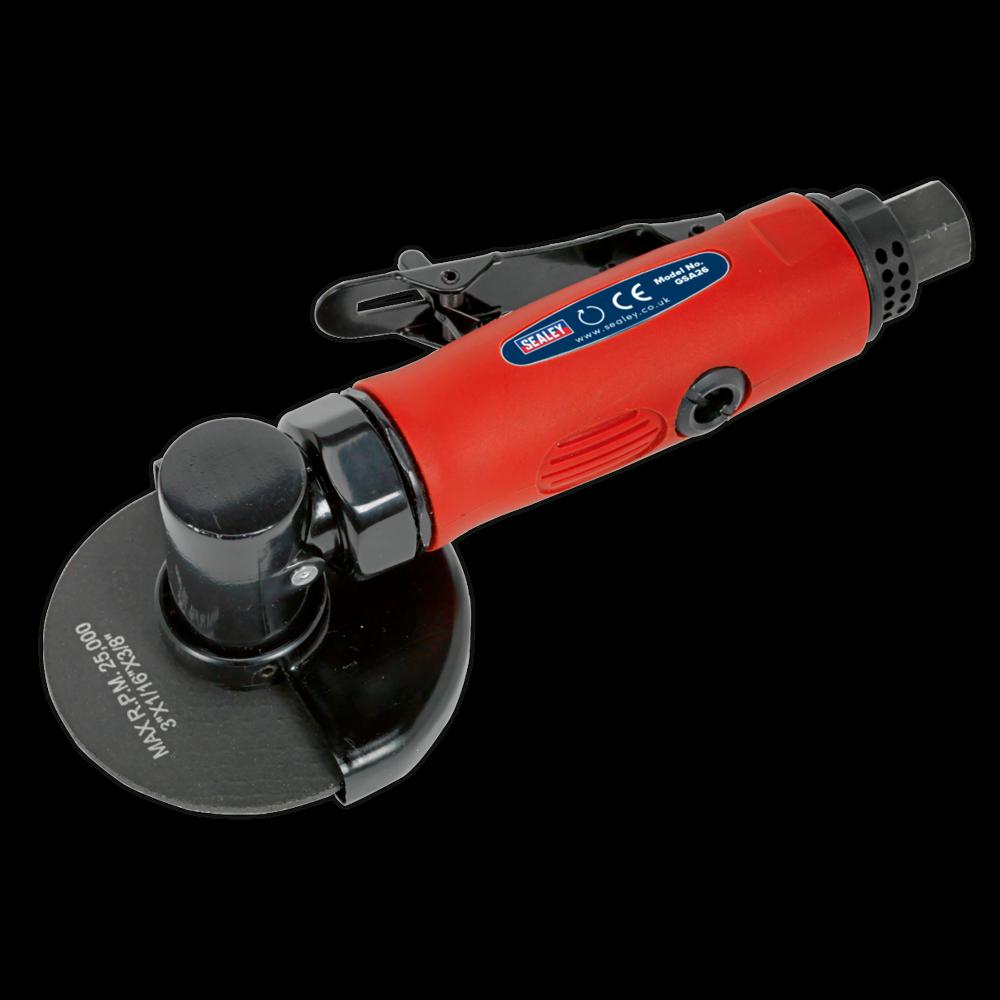 Sealey GSA26 Air Cut-Off Tool Ø75mm Straight