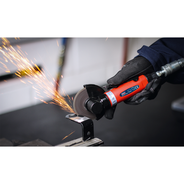 Sealey GSA26 Air Cut-Off Tool Ø75mm Straight Thumbnail 5