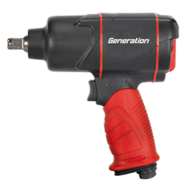 "Sealey GSA6006 Composite Air Impact Wrench 1/2"" Sq Drive Twin Hammer Thumbnail 2"