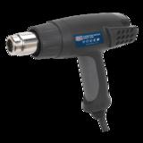 Sealey HS100 Hot Air Gun 2000W 3-Speed 50/420/650ºC