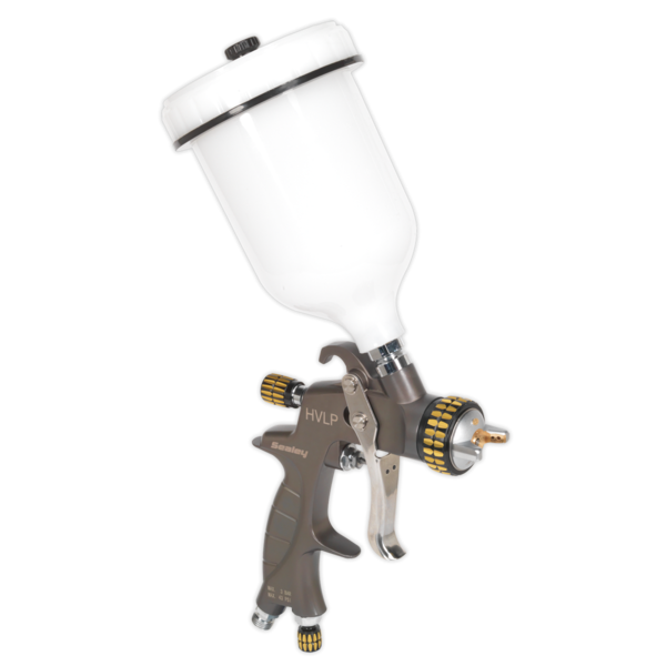 Sealey HVLP01 HVLP Gravity Feed Spray Gun 1.4mm Set-Up Thumbnail 2