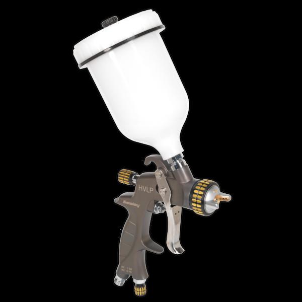 Sealey HVLP01 HVLP Gravity Feed Spray Gun 1.4mm Set-Up Thumbnail 2