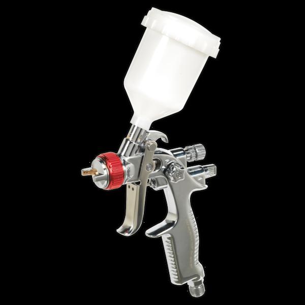 Sealey HVLP736 HVLP Gravity Feed Touch-Up Spray Gun 0.8mm Set-Up Thumbnail 1