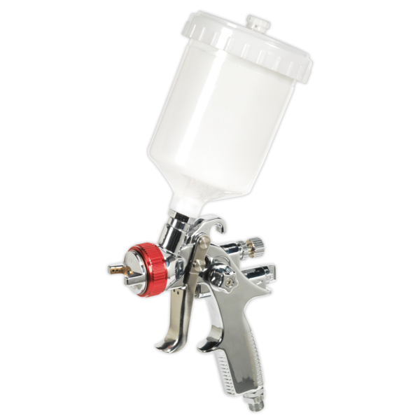 Sealey HVLP746 HVLP Gravity Feed Spray Gun 1.3mm Set-Up Thumbnail 2