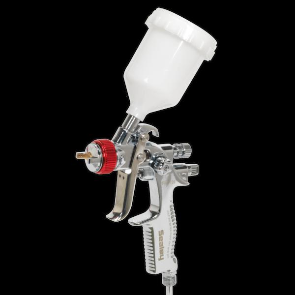 Sealey HVLP774 HVLP Gravity Feed Top Coat/Touch-Up Spray Gun Set Thumbnail 1