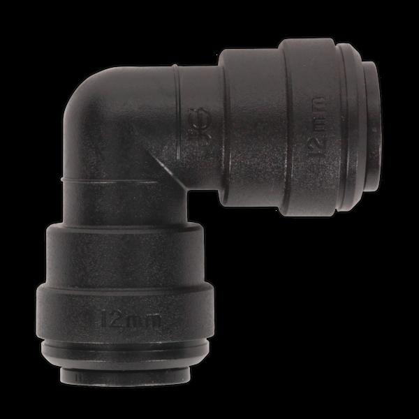 Sealey JGCE12 Elbow Coupling 12mm Pack of 5 (John Guest Speedfit PM0312E) Thumbnail 1