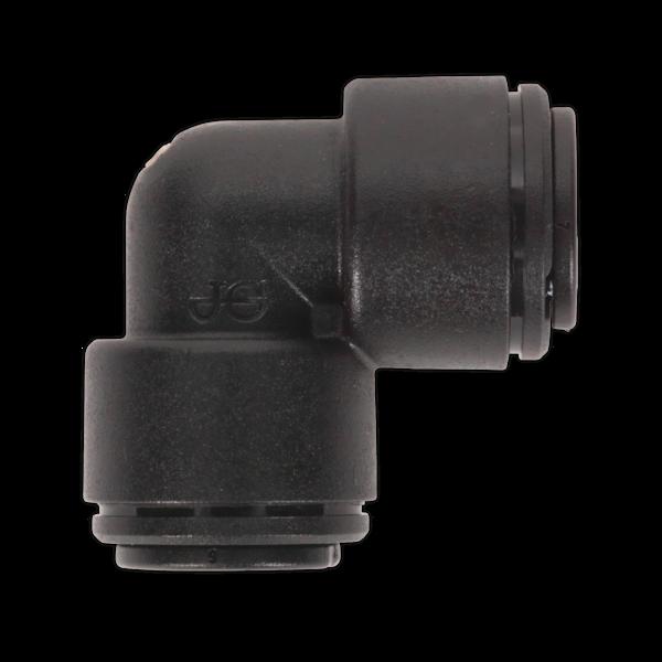 Sealey JGCE8 Elbow Coupling 8mm Pack of 5 (John Guest Speedfit PM038E) Thumbnail 1