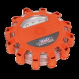 Sealey LED041 Rotating Warning Light 12 LED + 3 SMD LED