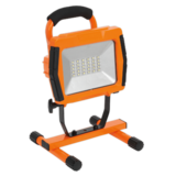 Sealey LED109CO Rechargeable Portable Floodlight 30SMD LED Lithium-ion - Orange