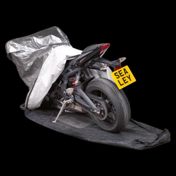 Sealey MCBM Motorcycle Coverall - Medium with Solar Panel Pocket Thumbnail 2