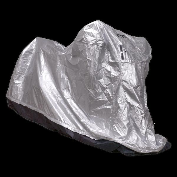 Sealey MCBM Motorcycle Coverall - Medium with Solar Panel Pocket Thumbnail 5