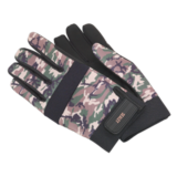 Sealey MG795L Mechanic's Gloves Padded Palm Camo - Large