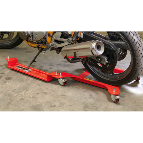 Sealey MS063A Motorcycle Dolly Rear Wheel Side Stand Type Thumbnail 3