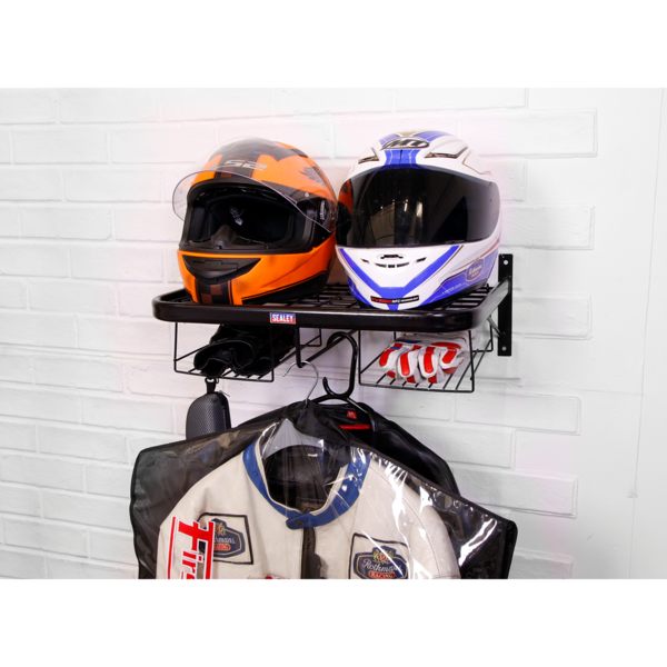 Sealey MS081 Motorcycle Helmet & Gear Tidy Thumbnail 2