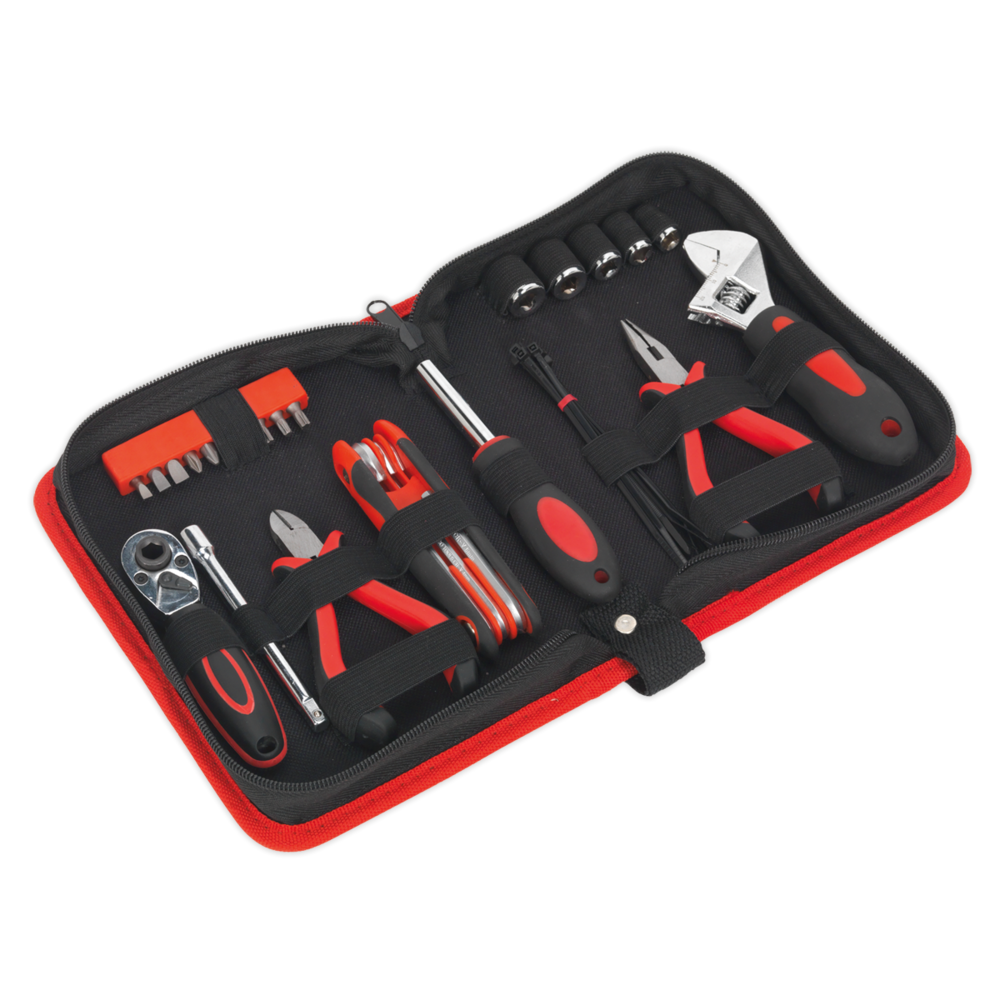 Sealey MS164 Motorcycle Toolkit Underseat 28pc