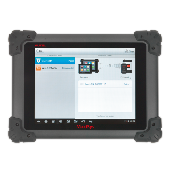Sealey MS908 Autel MaxiSYS® Multi-Manufacturer Diagnostic Tool Thumbnail 10