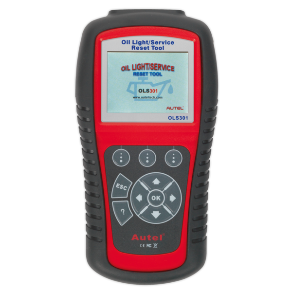 Sealey OLS301 Autel EOBD Code Reader Oil & Service Reset Tool Thumbnail 1