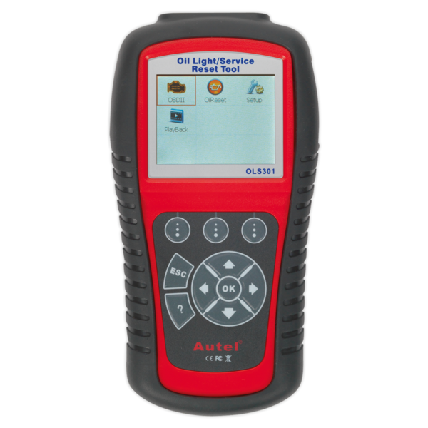 Sealey OLS301 Autel EOBD Code Reader Oil & Service Reset Tool Thumbnail 4