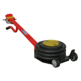 Sealey PAFJ3 Premier Air Operated Fast Jack 3 Tonne Three Stage Long Handle